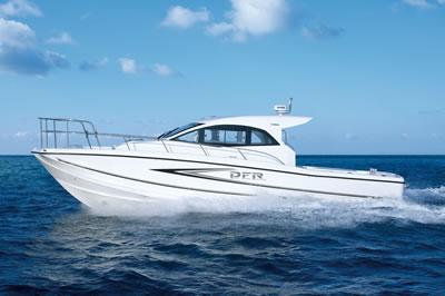 ヤマハ 外洋型フィッシングボート DFR(34FT/500PS)を発表!
