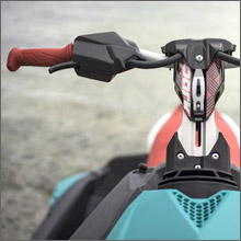 HANDLEBAR WITH ADJUSTABLE RISE