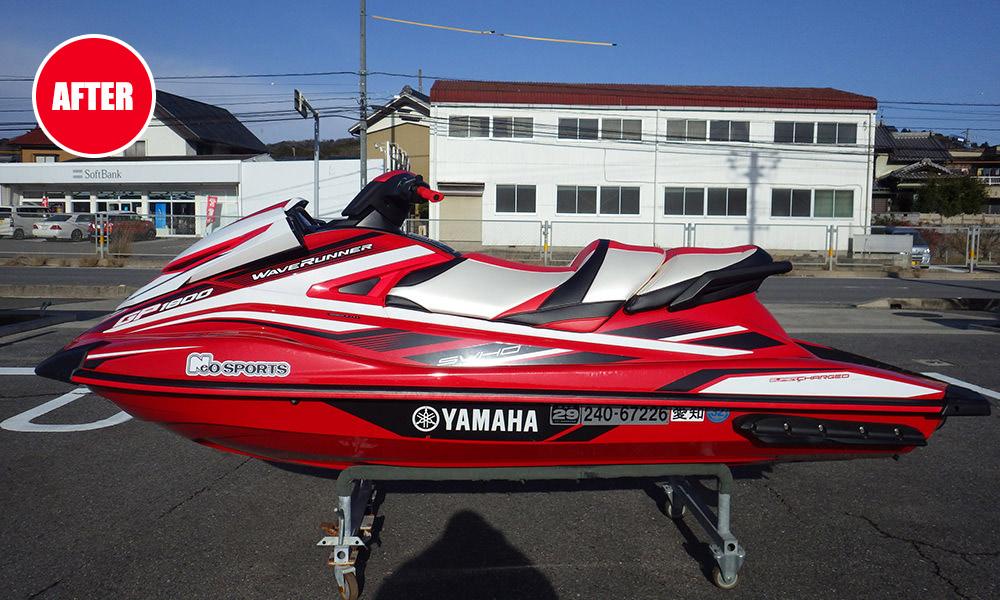 ヤマハ GP1800 シート張り替え後