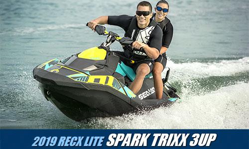 SEA-DOO 2019モデル徹底解剖 [SPARK TRIXX 3UP編]
