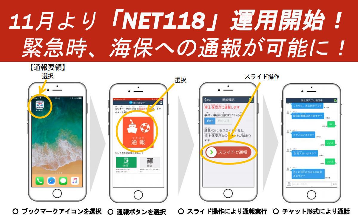 海保への通報が可能に!聴覚や発話に障がいを持つ方対象「NET118」運用開始