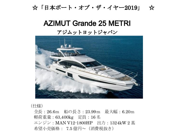 AZIMUT Grande 25 METRI
