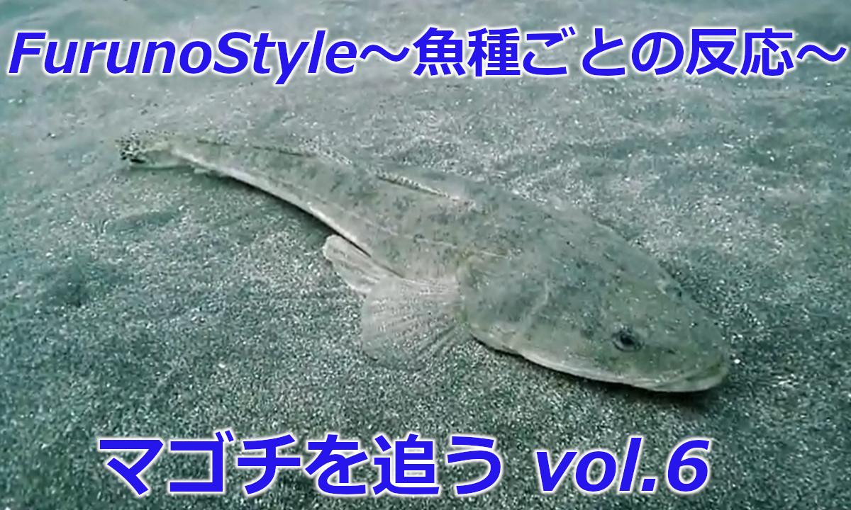 新着!フルノスタイル~魚種ごとの反応~【マゴチを追う Vol.6】