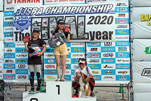 JJSBA 2020 R-1 OP WOMEN 表彰式