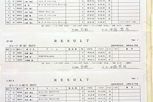 JJSBA 2020 R-2 OP SKI HEAT1リザルト