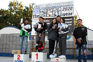 JJSBA 2020 FINAL A SKI-X 表彰式