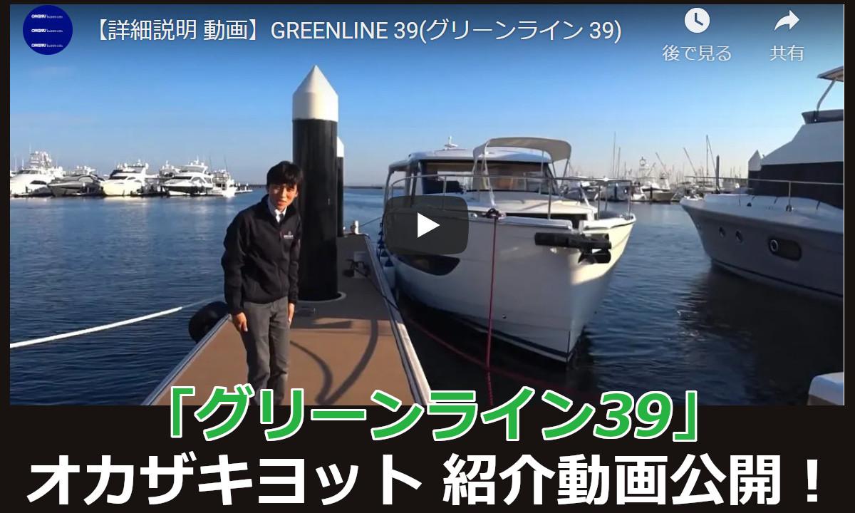 環境に優しく、軽快でパワフルなトローラー【グリーンライン39】動画公開
