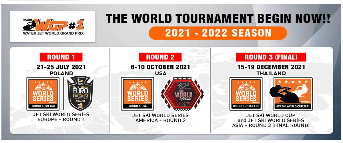 ジェットスキーワールドシリーズ2021