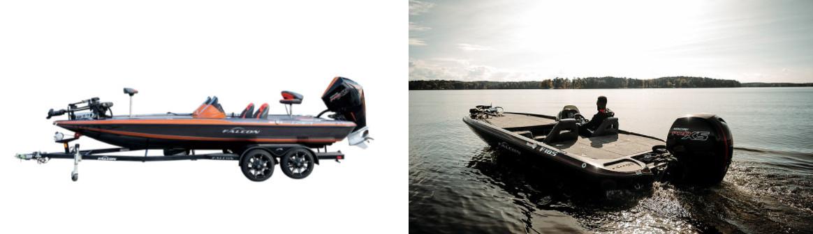 FALCON BASS BOATS新2艇