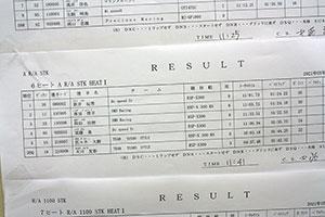 JJSF 2021 R-1 A R/A STK HEAT1リザルト